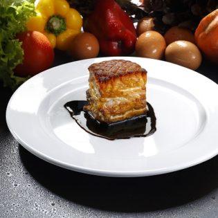 Cabernet Miso Braised Pork Belly