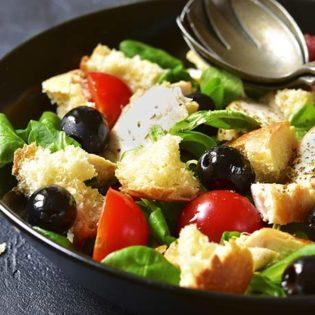 Grilled Panzenella Salad