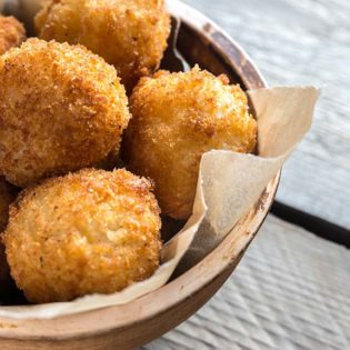 Pancetta and Onion Croquettes