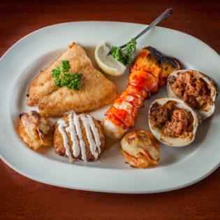 Baked Seafood Platter