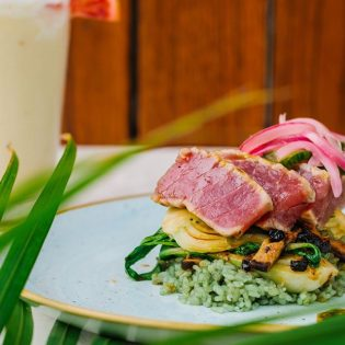 Furikake Ahi Steak