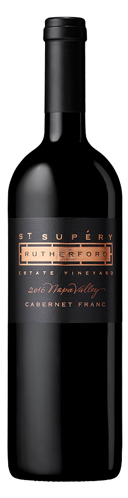 2016 Rutherford Estate Vineyard Cabernet Franc Bottle Shot