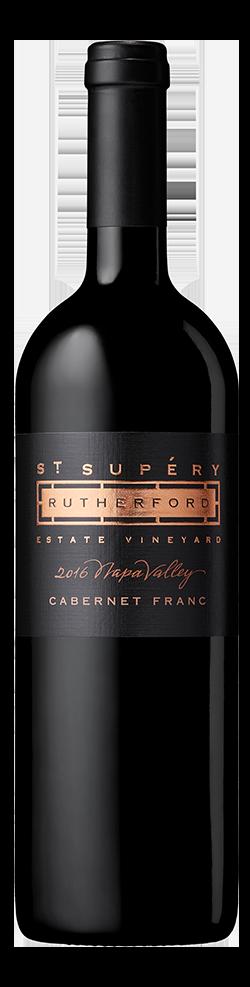2016 Rutherford Estate Vineyard Cabernet Franc Bottle Shot