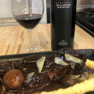 St Supéry Red Wine Braised Beef Shortribs