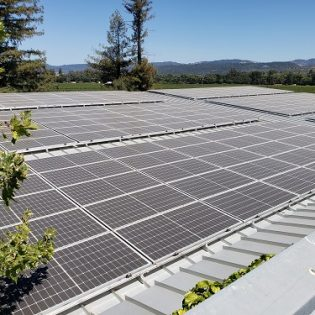 Napa Valley Winery Harvests the Sun for Sustainability & Savings