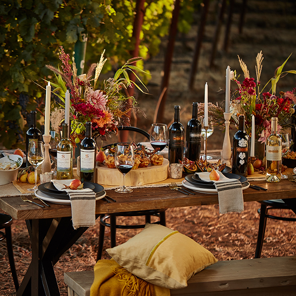 Entertaining Napa Tablescape