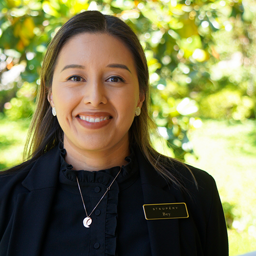 Bey Salinas - Guest Services Coordinator