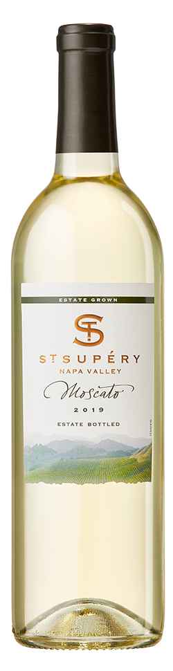 2019 Napa Valley Estate Vineyard Moscato Bottle Shot
