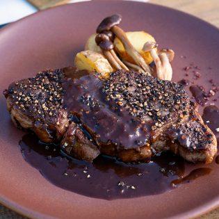 Steak au Poivre Napa Valley